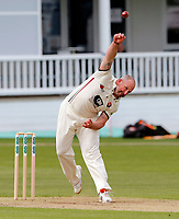Darren Stevens bowls for Kent during the County Championship Division 2 game between Kent and Gloucestershire at the St Lawrence Ground, Canterbury, on April 15, 2018.
