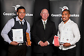 Junior Team of the Year winner, Counties Manukau Rugby League Under 17's. Counties Manukau Sport Sporting Excellence Awards held at Testra Clear Pacific Events Centre, Manukau, on Thursday 9th December 2010.
