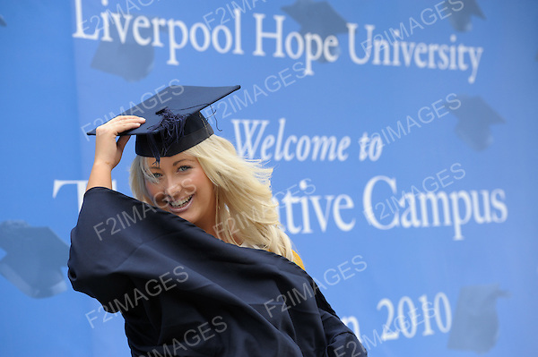14.7.10 Liverpool Hope University Graduation..Photos by Alan Edwards