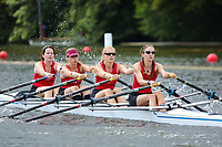 Race: 58  W.MasB.4x  Marlow Rowing Club vs Putney Town Rowing Club<br /> <br /> Henley Masters Regatta 2019 - Friday<br /> <br /> To purchase this photo, or to see pricing information for Prints and Downloads, click the blue 'Add to Cart' button at the top-right of the page.