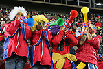 21 JUN 2010: Spain fans. The Spain National Team defeated the Honduras National Team 2-0 at Ellis Park Stadium in Johannesburg, South Africa in a 2010 FIFA World Cup Group H match.