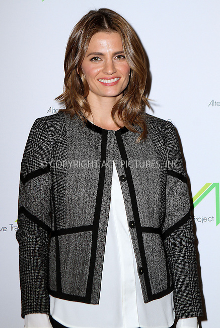 ACEPIXS.COM<br /> <br /> March 2 2015, LA<br /> <br /> Actress Stana Katic attends the Alternative Travel Project &amp; Metro Los Angeles present In Her Shoes: Women In A Car-Free LA From Using The System To Running It on March 2 2015 in LA.<br /> <br /> <br /> By Line: Nancy Rivera/ACE Pictures<br /> <br /> ACE Pictures, Inc.<br /> www.acepixs.com<br /> Email: info@acepixs.com<br /> Tel: 646 769 0430