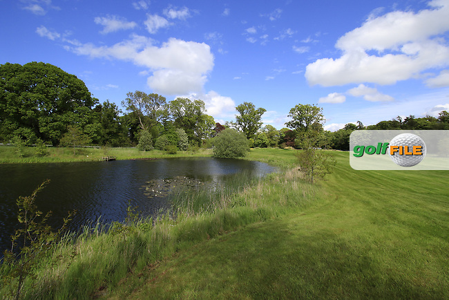 The 16th hole during Thursday's Round 1 of the 2016 Dubai Duty Free Irish Open hosted by Rory Foundation held at the K Club, Straffan, Co.Kildare, Ireland. 19th May 2016.<br /> Picture: Eoin Clarke | Golffile<br /> <br /> <br /> All photos usage must carry mandatory copyright credit (&copy; Golffile | Eoin Clarke)