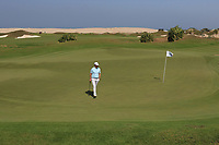 Cormac Sharvin (NIR) on the 2nd during Round 2 of the Oman Open 2020 at the Al Mouj Golf Club, Muscat, Oman . 28/02/2020<br /> Picture: Golffile | Thos Caffrey<br /> <br /> <br /> All photo usage must carry mandatory copyright credit (© Golffile | Thos Caffrey)