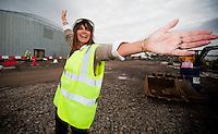 28/04/10 Carol Smillie backs Riverside Museum Appeal