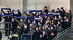 Stockholm 2014-11-29 Bandy Elitserien Hammarby IF - IK Sirius :  <br /> Sirius supportrar med halsdukar under matchen mellan Hammarby IF och IK Sirius <br /> (Foto: Kenta J&ouml;nsson) Nyckelord:  Elitserien Bandy Zinkensdamms IP Zinkensdamm Zinken Hammarby Bajen HIF HeIF Sirius IKS supporter fans publik supporters