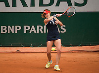 ALIZ&Eacute; CORNET (FRA)<br /> <br /> TENNIS - FRENCH OPEN - ROLAND GARROS - ATP - WTA - ITF - GRAND SLAM - CHAMPIONSHIPS - PARIS - FRANCE - 2016  <br /> <br /> <br /> <br /> &copy; TENNIS PHOTO NETWORK