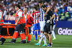 Deportivo Alaves's Feddal during the match of La Liga Santander between Atletico de Madrid and Deportivo Alaves at Vicente Calderon Stadium. August 21, 2016. (ALTERPHOTOS/Rodrigo Jimenez)
