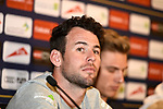 Mark Cavendish (GBR) Team Dimension Data at the top riders press conference for the Dubai Tour 2018 the Dubai Tour&rsquo;s 5th edition held at Dubai Frame in Zabeel Park, Dubai, United Arab Emirates. 5th February 2018.<br /> Picture: LaPresse/Massimo Paolone | Cyclefile<br /> <br /> <br /> All photos usage must carry mandatory copyright credit (&copy; Cyclefile | LaPresse/Massimo Paolone)