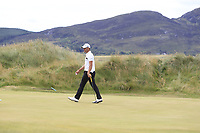 Haydn Porteous (RSA) on the 7th green during Round 3 of the Dubai Duty Free Irish Open at Ballyliffin Golf Club, Donegal on Saturday 7th July 2018.<br /> Picture:  Thos Caffrey / Golffile