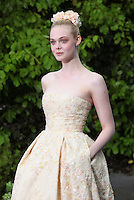 Elle Fanning arriving for the Maleficent Private Costume Reception, at Kensington Palace, London. 08/05/2014 Picture by: Alexandra Glen / Featureflash