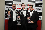 Gino Ussi, Chris Dittmann & Tristan Cliffe - F3 Cup Annual Dinner & Awards Brands Hatch 2012