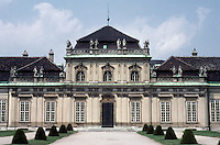 Vienna: The Lower Belvedere Palace, 1714-1716 by Johann Lukas Von Hildebrandt. Photo '87.