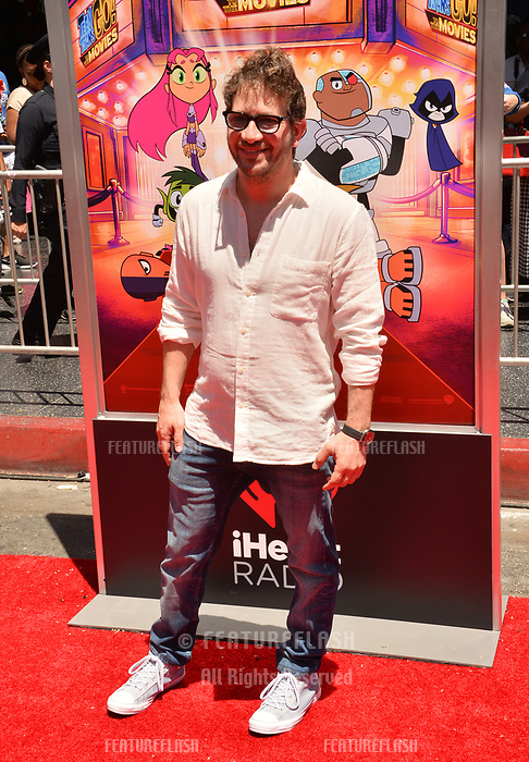 Jared Faber at the premiere for &quot;Teen Titans Go! to the Movies&quot; at the TCL Chinese Theatre, Los Angeles, USA 22 July 2018<br /> Picture: Paul Smith/Featureflash/SilverHub 0208 004 5359 sales@silverhubmedia.com