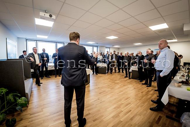 Dansk Fjernvarmes Nytårsstafet. Dan Jørgensen talte til Dansk Fjernvarmes Nytårsstafet 2019T<br /> Foto: Jens Panduro