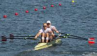 Rio de Janeiro. BRAZIL.   NOR M2X Bow. Kjetil<br /> BORCH and Olaf<br /> TUFTE, 2016 Olympic Rowing Regatta. Lagoa Stadium,<br /> Copacabana,  &ldquo;Olympic Summer Games&rdquo;<br /> Rodrigo de Freitas Lagoon, Lagoa. Local Time 12:00:06   Saturday  06/08/2016 <br /> <br /> [Mandatory Credit; Peter SPURRIER/Intersport Images]