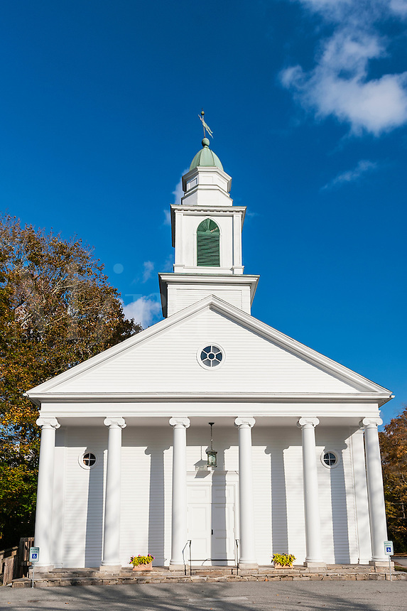 First Congregational Church of Pomfret, Connecticut. This historic church has since been destroyed by fire.