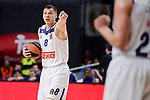 Real Madrid's Jonas Maciulis duringTurkish Airlines Euroleague match between Real Madrid and FC Barcelona Lassa at Wizink Center in Madrid, Spain. March 22, 2017. (ALTERPHOTOS/BorjaB.Hojas)