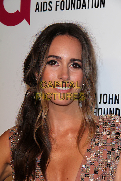 WEST HOLLYWOOD, CA - March 02: Louise Roe at the 22nd Annual Elton John AIDS Foundation Oscar Viewing Party, Private Location, West Hollywood,  March 02, 2014.  <br /> CAP/MPI/JO<br /> &copy;Janice Ogata/MediaPunch/Capital Pictures
