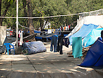 HOMELESS CAMP IN DOWNTOWN MEXICO CITY