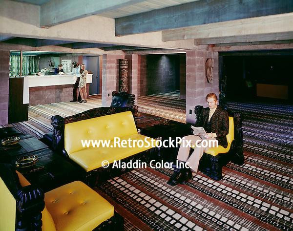 Aztec Motel 1971 ( Seaside Hts, Nj )