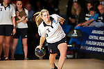 14 APR 2012: Meghan Kelly (23) of Farleigh Dickson University bowls after  during the Division I Womens Bowling Championship against the University of Maryland Eastern Shore held at Freeway Lanes in Wickliffe, OH. The University of Maryland Eastern Shore defeated Fairleigh Dickinson 4-2 to win the national title.  Jason Miller/NCAA Photos