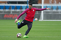 San Jose, CA - March 21, 2017: The USMNT train in preparation for their 2018 FIFA World Cup Qualifying Hexagonal match against Honduras at Avaya Stadium.