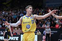 Basketball  1. Bundesliga  2017/2018  Hauptrunde  14. Spieltag  23.12.2017 Walter Tigers Tuebingen - Basketball Laewen Braunschweig Thomas Klepeisz (Braunschweig)