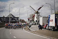 first breakaway attempt of the day<br /> <br /> 74th Dwars door Vlaanderen 2019 (1.UWT)<br /> One day race from Roeselare to Waregem (BEL/183km)<br /> <br /> ©kramon