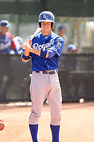 Wil Myers, Kansas City Royals 2010 minor league spring training..Photo by:  Bill Mitchell/Four Seam Images.