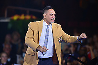 Canton, Ohio - August 2, 2019:  Kevin Mawae receives his Hall of Fame Gold Jacket at the Canton Civic Center in Canton, Ohio August 2, 2019.  (Photo by Don Baxter/Media Images International)