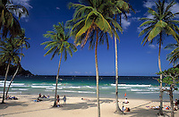 Trinidad & Tobago, Commonwealth, Trinidad, Maracas Bay: famous beach in the north