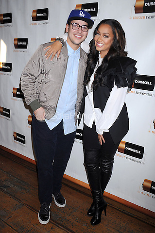 Rob Kardashian and Lala Anthony at a private Chris Daughtry concert to celebrate the launch of the Duracell Holiday Insurance Program. New York City. December 14, 2011. Credit: Dennis Van Tine/MediaPunch