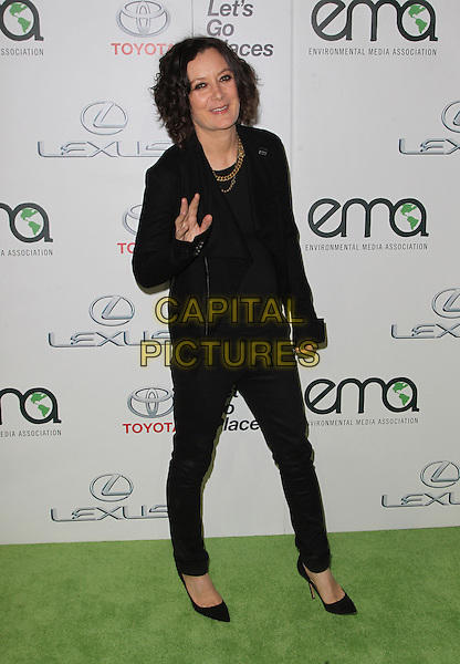 18 October 2014 - Burbank, California - Sara Gilbert. 24th Annual Environmental Media Awards Presented By Toyota And Lexus Held at The Warner Brothers Studios.   <br /> CAP/ADM/FS<br /> &copy;Faye Sadou/AdMedia/Capital Pictures