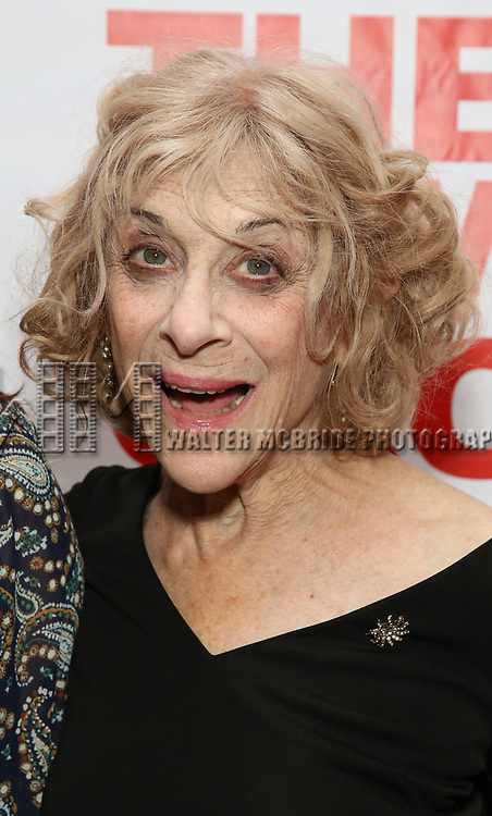 """Laura Esterman attends The New Group presents the New York Premiere Opening Night of David Rabe's for """"Good for Otto"""" on March 8, 2018 at the Green Fig Urban Eatery,  in New York City."""
