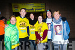 Family and Friends of the late Lorna Brosnan took part of Darkness into Light to remember the Tralee girl. <br /> Left to right Pauline O'Shea, Stephen Brosnan, Alex Buhl, Nicola Griffin, Joe and Jane Tobin.