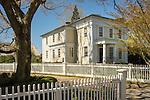 New England home, Essex Village, CT.