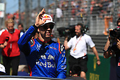25th March 2018, Melbourne Grand Prix Circuit, Melbourne, Australia; Melbourne Formula One Grand Prix, race day; Scuderia Toro Rosso; Pierre Gasly