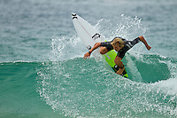 February 18th 2010.  Adrina Buchan (AUS)  Free surfing at Snapper Rocks, Coolangatta, Queensland, Australia.Photo: Joliphotos.com