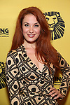 Sierra Boggess attends the 20th Anniversary Performance of 'The Lion King' on Broadway at The Minskoff Theatre on November 5, 2017 in New York City.