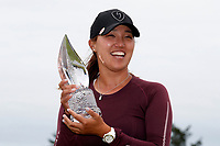 Annie Park (USA) poses with the trophy after winning the ShopRite LPGA Classic presented by Acer, Seaview Bay Club, Galloway, New Jersey, USA. 6/10/18.<br /> Picture: Golffile | Brian Spurlock<br /> <br /> <br /> All photo usage must carry mandatory copyright credit (&copy; Golffile | Brian Spurlock)