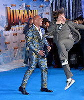"""LOS ANGELES, USA. December 10, 2019: Dwayne Johnson & Jack Black at the world premiere of """"Jumanji: The Next Level"""" at the TCL Chinese Theatre.<br /> Picture: Paul Smith/Featureflash"""