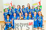 Kerry Area Basketball Board U/12 Plate Final: The Tralee Imperials Team  that won the girls U/12 plate against the TK Cougars team from Killarney at the Duagh Sports Complex on Sunday last.