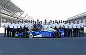 Verizon IndyCar Series<br /> Indianapolis 500 Winner Portrait<br /> Indianapolis Motor Speedway, Indianapolis, IN USA<br /> Monday 29 May 2017<br /> Takuma Soto poses for the 500 winner photos<br /> World Copyright: Phillip Abbott<br /> LAT Images<br /> ref: Digital Image abbott_indyD_0517_35358