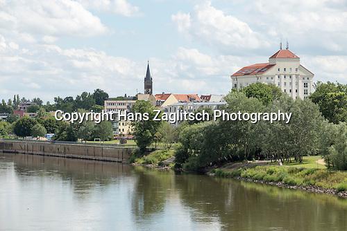 Südstadt mit Sankt Gertrauden-Kirche, Magdeburg