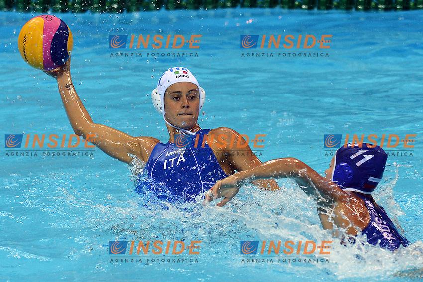 Alessandra Cotti Italia..London 1/8/2012 Water Polo Arena..London 2012 Olympic games - Olimpiadi Londra 2012..Italia Vs Russia..Water Polo - Pallanuoto..Foto Andrea Staccioli Insidefoto