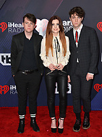 Echosmith - Sydney Sierota, Noah Sierota &amp; Graham Sierota at the 2018 iHeartRadio Music Awards at The Forum, Los Angeles, USA 11 March 2018<br /> Picture: Paul Smith/Featureflash/SilverHub 0208 004 5359 sales@silverhubmedia.com