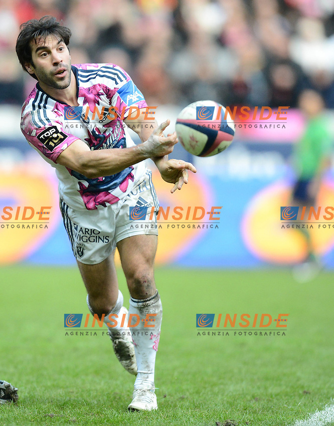 Jerome Fillol ( Stade Francais ) .Parigi 1/11/2012 Saint Denis.RUGBY : Stade Francais vs Toulouse - TOP 14 .Foto Panoramic/Insidefoto.ITALY ONLY