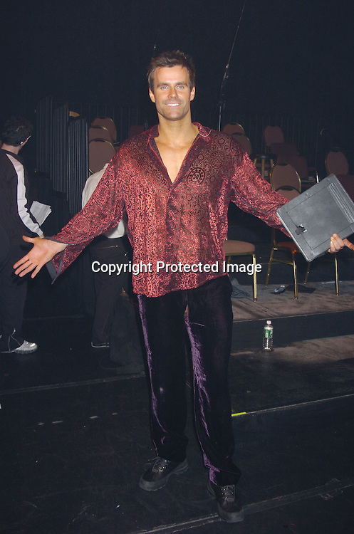 """Cameron Mathison ..at a performance of """"Pippin"""" A Concert to Benefit The National Aids Fund and The Storm Theatre on November 29, 2004 at The Manhattan Center's Grand Ballroom...PHoto by Robin Platzer, Twin Images"""