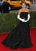"NEW YORK CITY, NY, USA - MAY 05: Katie Couric at the ""Charles James: Beyond Fashion"" Costume Institute Gala held at the Metropolitan Museum of Art on May 5, 2014 in New York City, New York, United States. (Photo by Xavier Collin/Celebrity Monitor)"